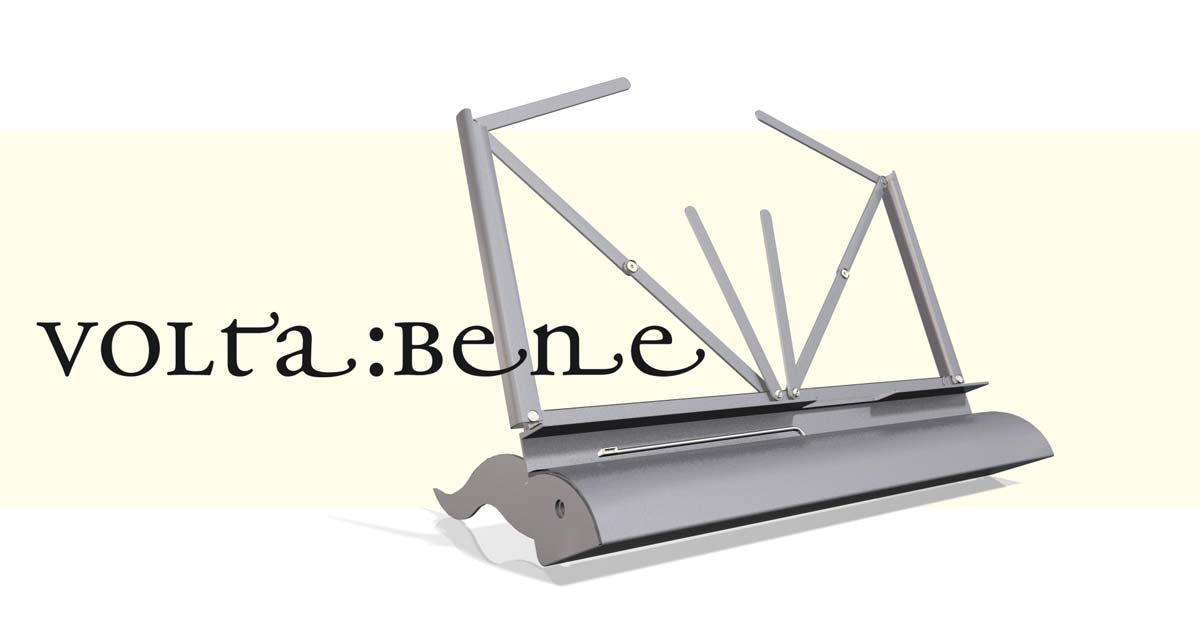 voltabene - the pageturner
